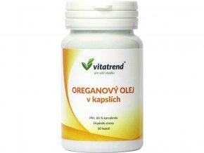 Oreganový olej v kapslích, 60 kapslí