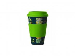 Ekologický bambusový termo hrneček Tea Time 400ml