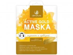 Maska active gold rozjasnění a vyhlazení 26g