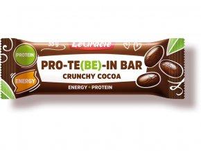 Tyčinka čokoládová s dýňovým proteinem CRUNCHY 35 g