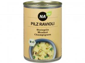 Bio Houbové ravioly s houbovou omáčkou 400 g