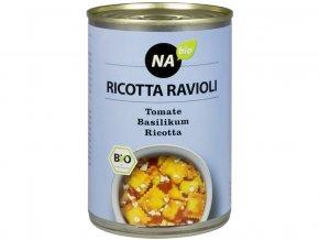 Bio Riccota ravioly s rajčatovou omáčkou 400 g