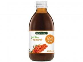Bylinný nápoj s jabl. šťávou - Rakytník 250 ml