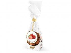 Jahůdky v čokoládě a kakau - dárkový sáček 100 g