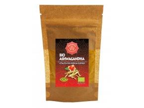 Bio Ajurvéda bylinný prášek Ashwagandha 60g - vitalita-sex-energie