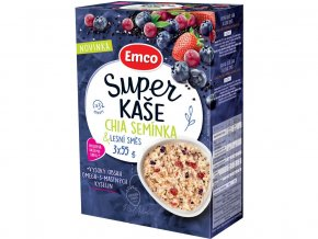 Super kaše Chia semínka & lesní směs 3x55g, min.trv. 11.12.2018