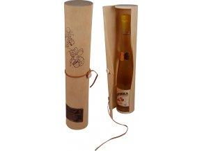 Dřevěný dárkový obal na medovinku