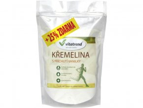 Křemelina vanilka sáček 500 g + 25 % zdarma