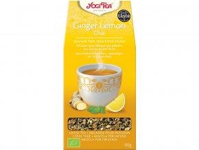 Bio Zázvor Citrón Chai sypaný Yogi Tea 90 g