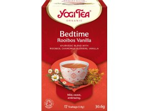 Bio Čas ke spánku Rooibos Vanilka Yogi Tea 17 x 1,8 g