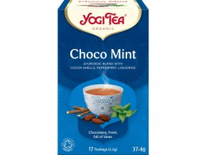 Bio Choco Máta Yogi Tea 17 x 2,2 g