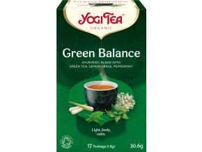 Bio Zelená rovnováha Yogi Tea 17 x 1,8 g