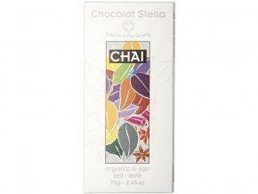 Bio mléčná čokoláda čaj Chai 70g
