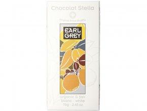 Bio bílá čokoláda Earl grey 70g