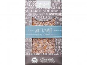 Zdobená mléčná čokoláda Winter Dream 100g