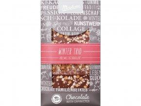 Zdobená čokoláda Trio Winter 3x30g