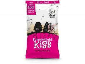 Bio ovocné bonbóny Summernight kiss 75g - kokosová příchuť