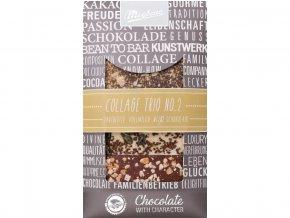 Zdobena cokolada Trio No.2 3x30g