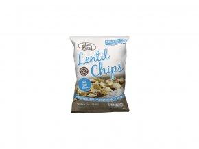 Čočkové chipsy – s mořskou solí 40g