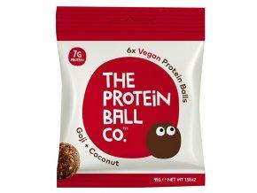Vegan Protein Balls 45g (Veganské proteinové kuličky) goji & coconut