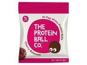 Egg White Protein Balls 45g (Kuličky s vaječným proteinem)  cherry bakewell