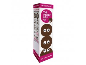 Egg White Protein Balls 22,5g (Kuličky s vaječným proteinem) cherry bakewell