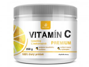 Vitamin C Premium prasek 250g