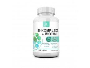 B-komplex+ Biotin 120 tablet