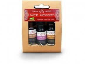 Esenciální oleje set Tantra-Smyslnost 3x10ml