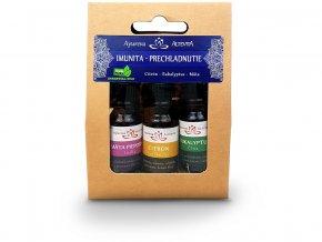 Esenciální oleje set Imunita - Nachlazení 3x10ml