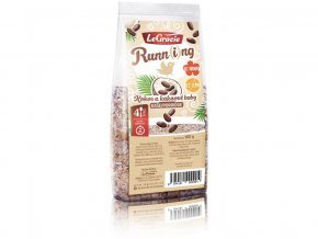 Kaše Run-ní ptáče - kokos a kakaové boby 180g