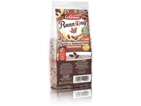 Kaše Run-ní ptáče - banán a kakaové boby 180g