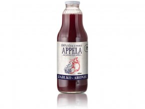 Jablko - arónie 1l - 100% přírodní šťáva