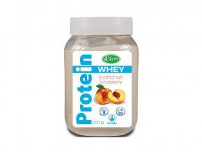 Whey protein s příchutí broskev 200 g