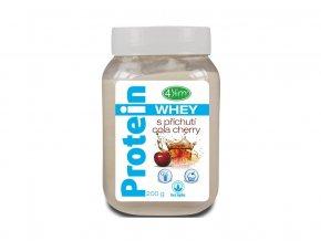 AKCE - Whey protein s příchutí cola cherry 200 g, min. trv. 30.4.2020