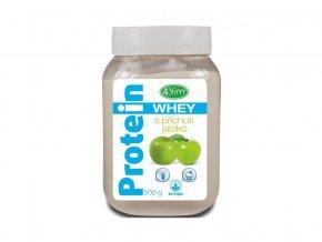 AKCE - Whey protein s příchutí jablko 200 g, min. trv. 30.4.2020