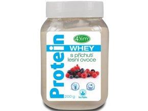 Whey protein s příchutí lesní ovoce 200 g