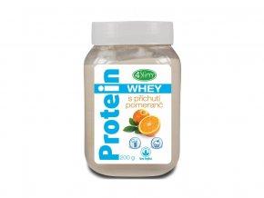 AKCE - Whey protein s příchutí pomeranč 200 g,min. trv. 30.4.2020
