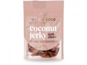 Bio kokosové jerky čokoládové 25g