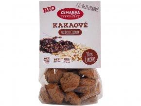 Bio sušenky čirokové vločkové s kakaem 100g
