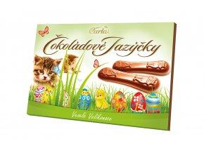 Čokoládové jazýčky mléčné - velikonoce 100g