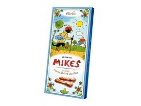 Čokoládové jazýčky mléčné koucourek Mikeš 50g