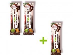 Tyčinka čokoládová s dýňovým proteinem B&W 35 g Akce 2+1