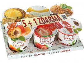 Zdravá snídaně varianta A 468g - AKCE 5+1 ZDARMA