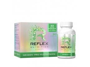 Nexgen PRO 90 kapslí + Omega 3 90 kapslí ZDARMA