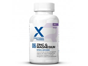 X Functional Training 06 Zinc & Magnesium 100 kapslí