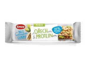 Tyčinka s ořechem a proteinem - pistácie 35g