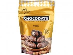 Datle s mandlí v mléčné čokoládě 100g