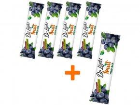 AKCE-Tyčinka ovocná Dr.Light Fruit VISIO-BAR 30g,4+1 ZDARMA min.trv.5/2019