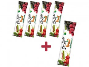 AKCE - Tyčinka ovocná Dr.Light Fruit IMMUNO-BAR 30g 4+1 ZDARMA